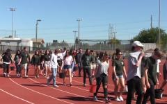 Students' walk fundraises for national charity