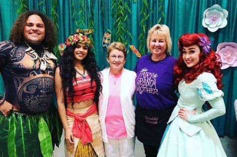 (COURTESY/ANNABELLE TIZNADO)  Annabelle Tiznado enjoys spending time with kids as the Disney princess Moana. She uses her prior experience babysitting children, as well as her singing skills in order to keep them entertained.