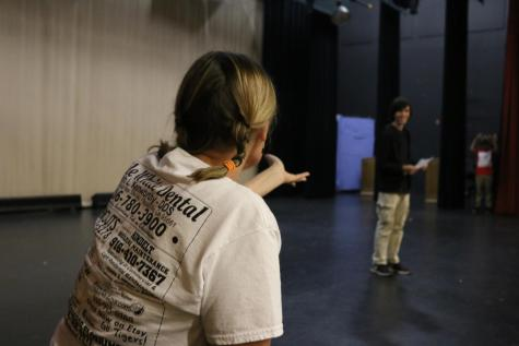 Jennifer Saigeon, Roseville's newest drama teacher, is working on implementing a more student run, student-oriented program for her students. She hopes to prevent a disorienting shift by slowly easing into new techniques.