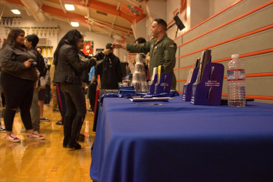 Yesterday was RHS' third annual career fair.