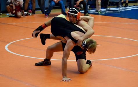Varsity wrestling team buckles under Bella Vista Broncos