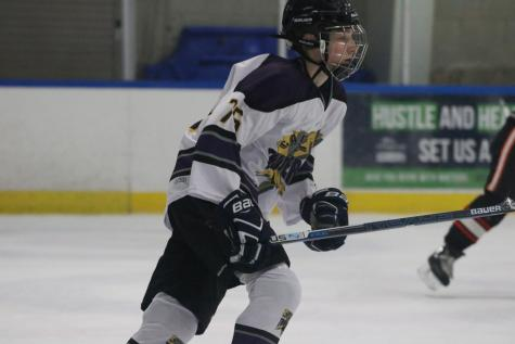 At the age of nine, sophomore Philippe Moffet moved from Quebec City to California for his father's job. Despite the move, Moffet continued to play and foster a love for his native sport of hockey.