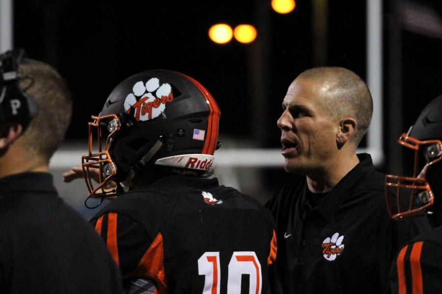 This year the varsity football team welcomed a new coach, Joe Cattolico, who has led them to a 3-2 record so far this season.