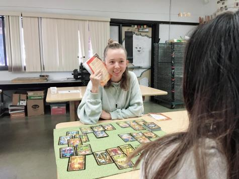 Mckibbon relies on her cards and intuition in equal measure during her readings.