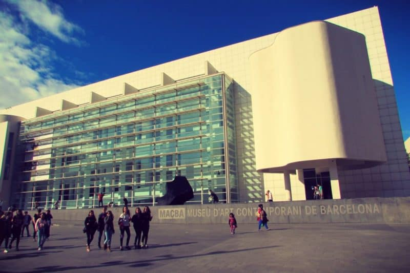 MACBA-Contemporary-Museum Barcelona by Ben Holbrook