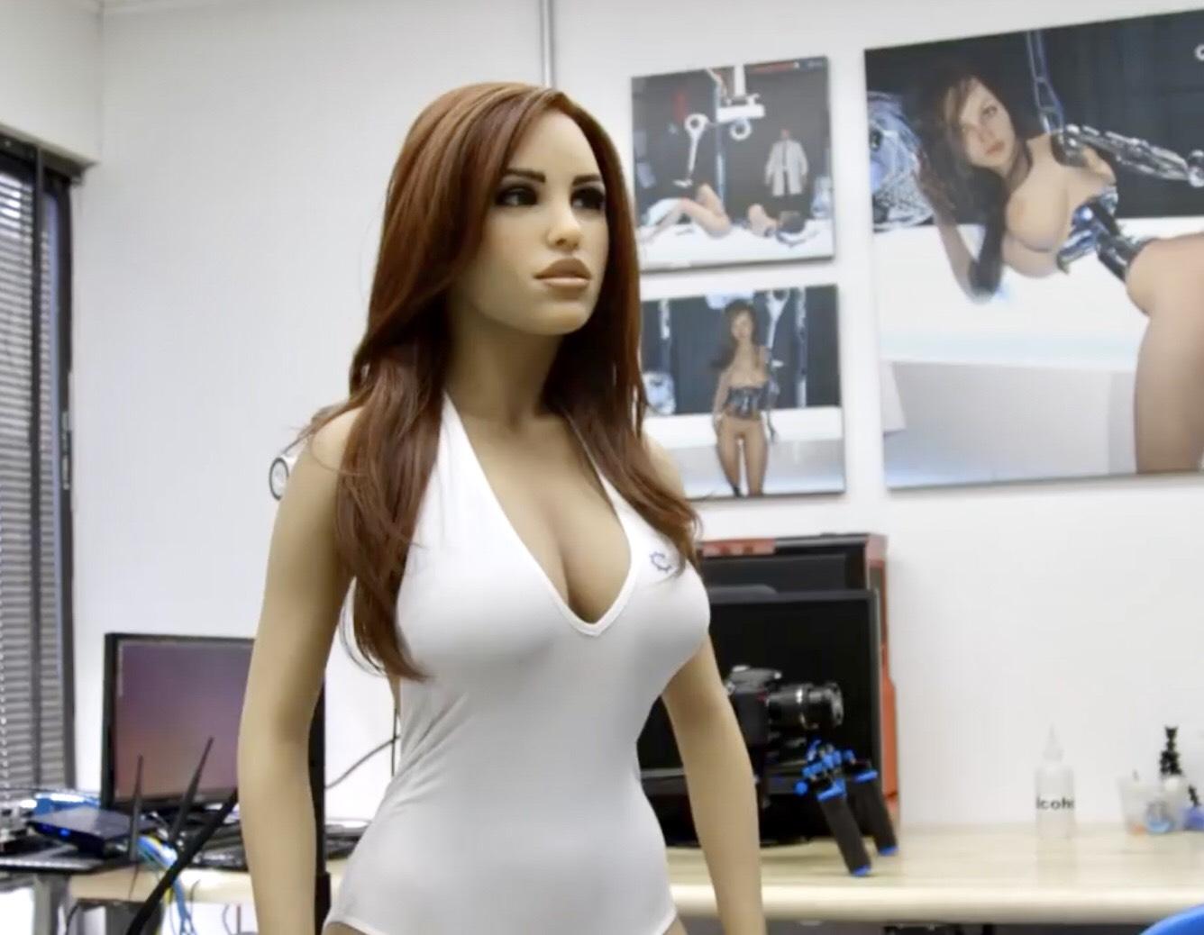 Harmony, a lifelike sex robot produced by Realbotix. Source: Youtube