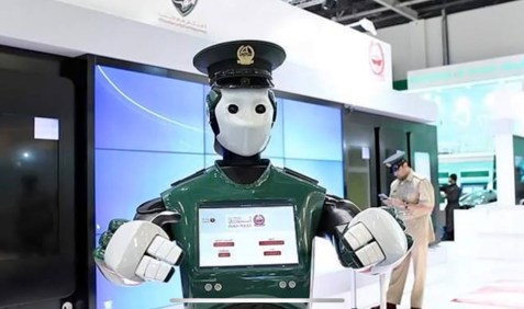 The early model of the India's RoboCops. Source: Youtube