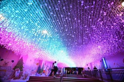 """""""Christmasland in New Taipei City"""", the biggest winter festival event in Taiwan has been held for 10 consecutive years and won recommendations from many internationally renowned media for 4 consecutive years."""