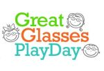 Great glasses play day optometrist badge
