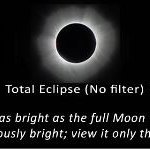 Eclipse viewing glasses instructions
