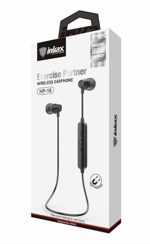 INKAX HP-16 Bluetooth Handsfree Black