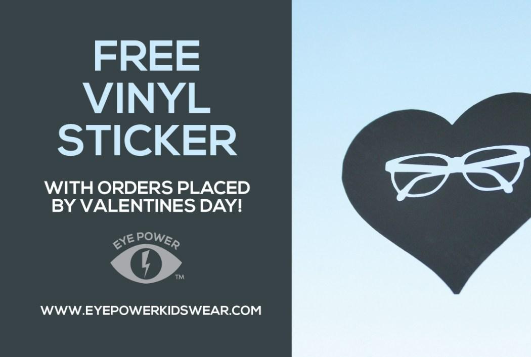 Valentines Day Fun Eye Power Kids Wear