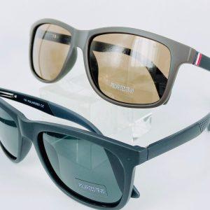士林民視眼鏡–輕膠框偏光太陽眼鏡