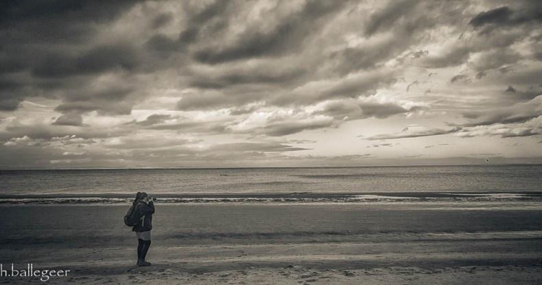 Photographer Portobello Beach