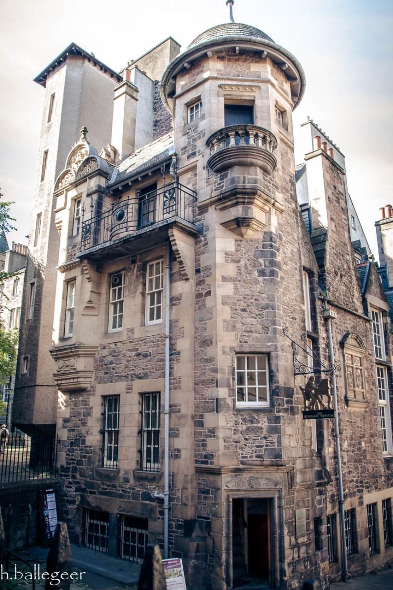 The Writers' Museum in Edinburgh