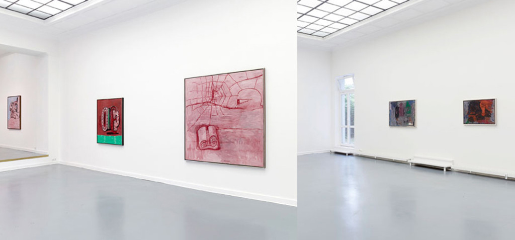 Philip Guston, Installation view at Aurel Scheibler, Berlin