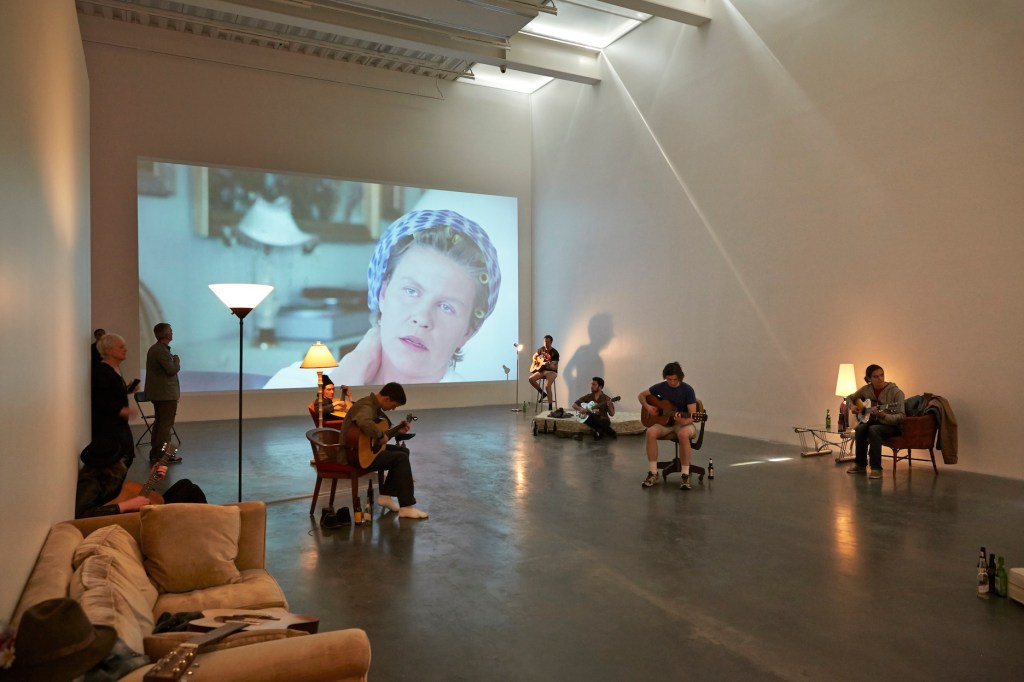 Ragnar Kjartansson, Installation view, New Museum, New York, 2014 Image courtesy of the museum