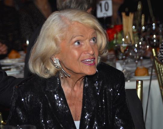 Edie Windsor, The Center, Women's Event 17, at Cipriani, NY, Photograph by Allyson Howard, 2014