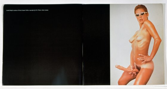 "Lynda Benglis, ""Advertisement in 'Artforum,'"" 1974. Art © Lynda Benglis/Licensed by VAGA, New York, NY."