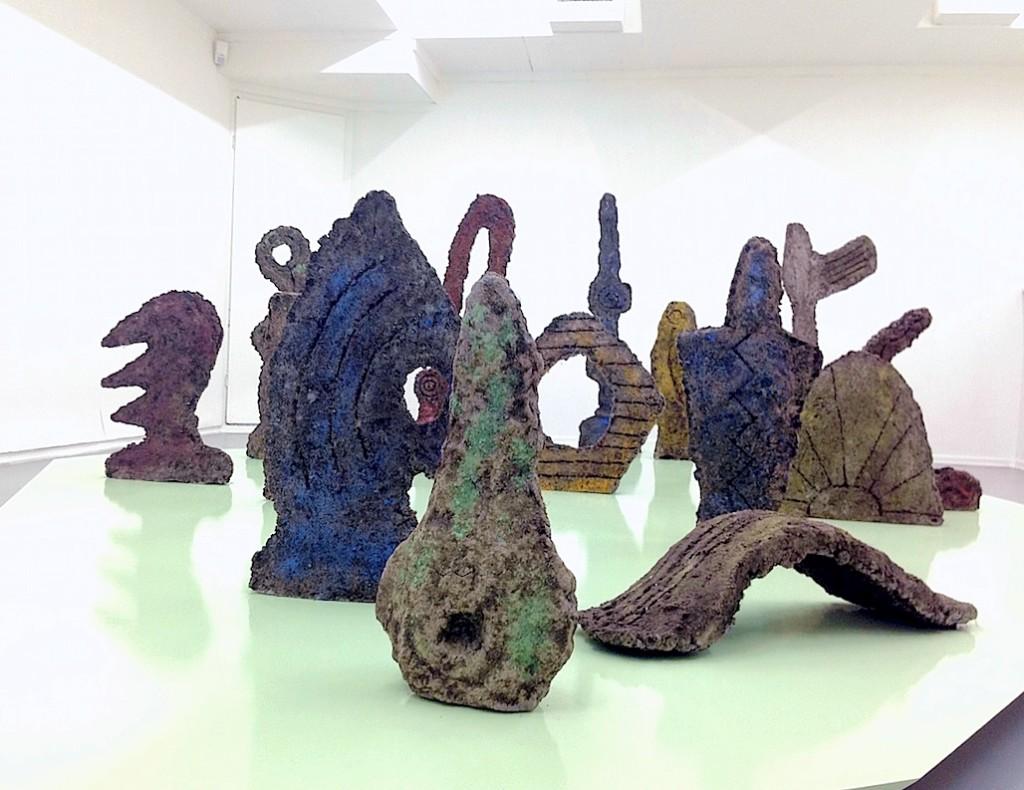 "Lene Baadsvig Ormen, Installation view ""Dear Darkling"", Unge Kunstneres Samfund (UKS), Photograph by Katy Hamer, 2015"