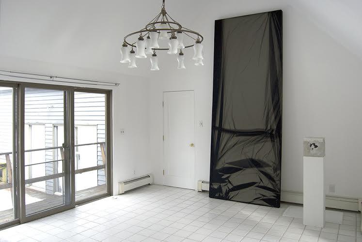 Chris Duncan, Skylight Series, Detail, Elaine de Kooning Home, East Hampton, New York, 2015, Photograph courtesy of Halsey McKay Gallery