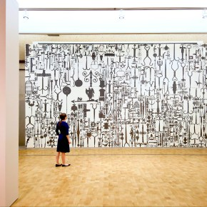 Ellen Harvey at the Barnes Foundation