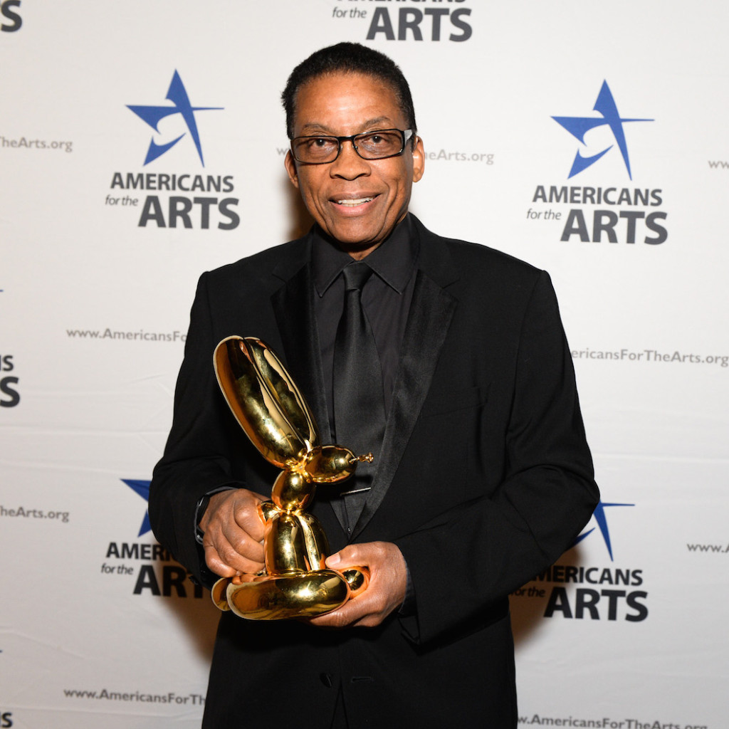 Herbie Hanock, Americans for the Arts Awards, Photograph courtesy of BFA, 2015