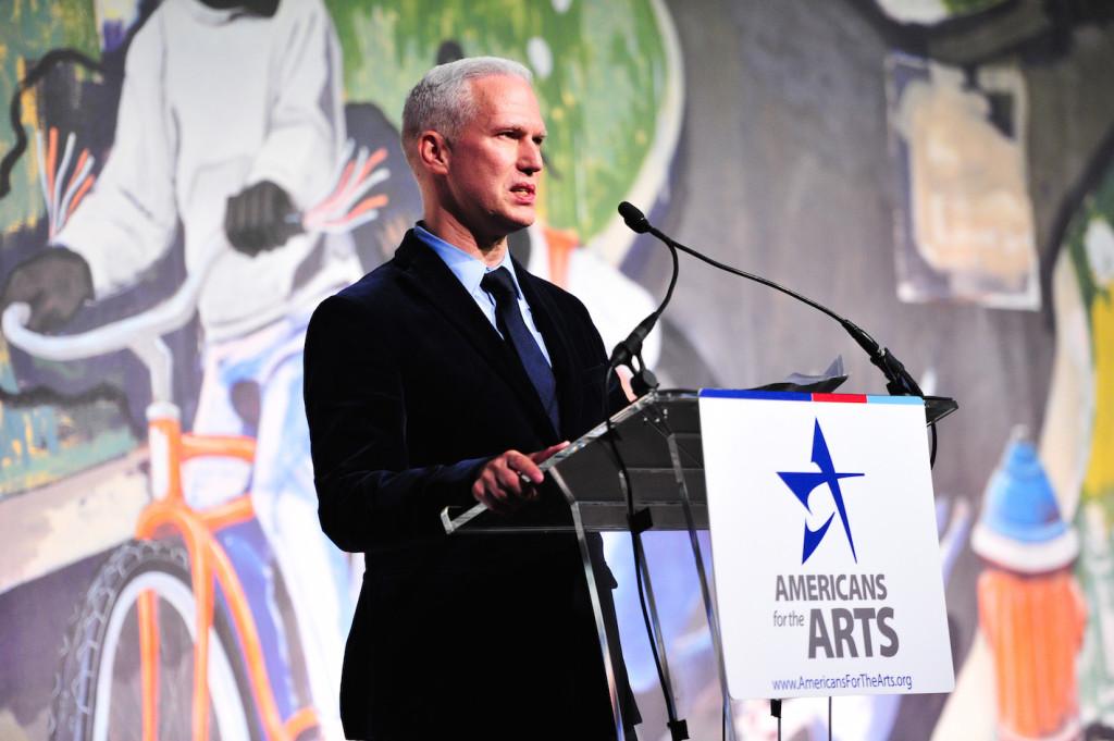 Klaus Biesenbach, Americans for the Arts Awards, Cipriani, NY, Photograph courtesy of BFA, 2015