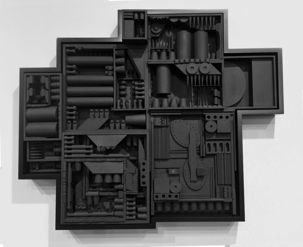 Louise Nevelson at Pace Gallery, NY, Art Basel Miami Beach, Photograph by Vikki Tobak, 2015