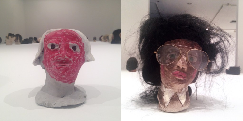 Sculptures from the installation at 80WSE Gallery, New York University, NY, Photograph/s by Katy Hamer, 2015