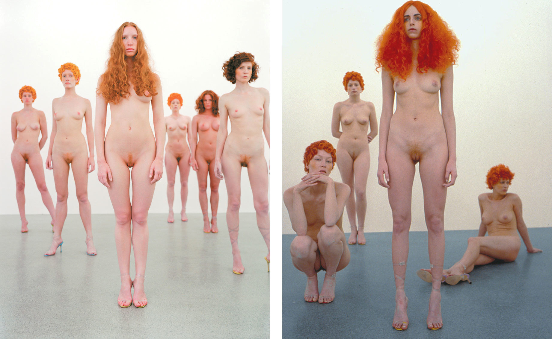 Vanessa Beecroft, VB43 No. 2, 2000, Image/s courtesy of Gagosian Gallery