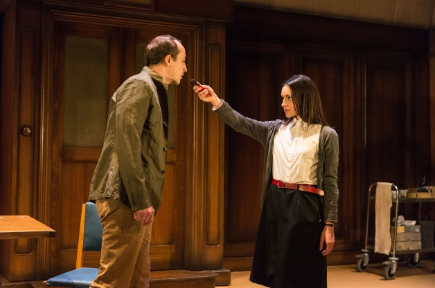 2015 West End cast: Matthew Spencer (Winston) and Janine Harouni (Julia) in 1984. Photography by Manuel Harlan.jpg