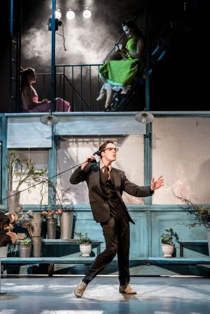 Daniel Collins (Dr Jekyll), Jekyll & Hyde at The Old Vic. Photo by Manuel Harlan