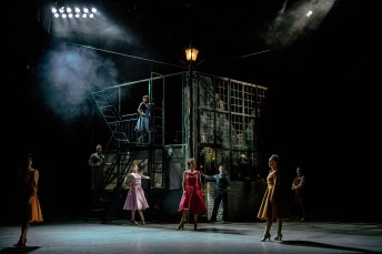 The Cast, Jekyll & Hyde at The Old Vic. Photo by Manuel Harlan