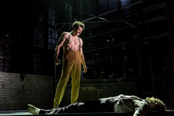 Tim Hodges (Mr Hyde), Jekyll & Hyde at The Old Vic. Photo by Manuel Harlan