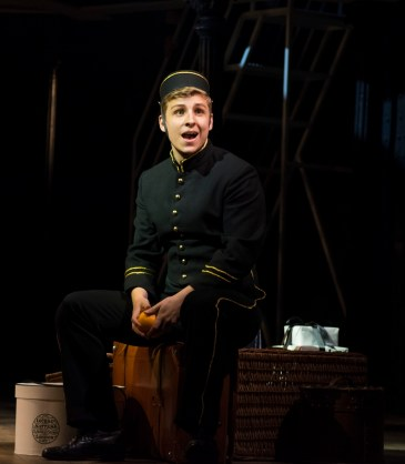 Titanic 7 Bellboy (Luke George) Photo Annabel Vere