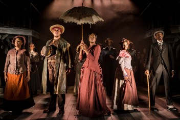 The company of Ragtime. Photo: Scott Rylander