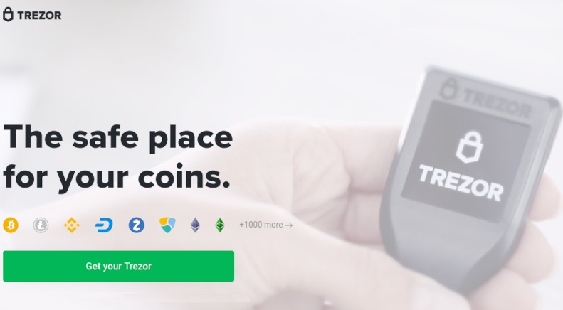Trezor is The best cryptocurrency wallet in the market