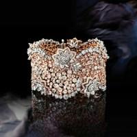 A Gorgeous Pink and White Diamond Bracelet