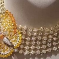Yellow Sapphires and Diamonds Necklace by Van Cleef & Arpels