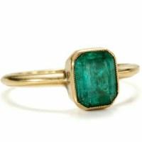 Vintage Emerald Ring circa 1850
