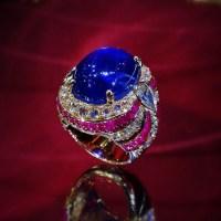 Spectacular Unheated Burmese Star Sapphire Ring