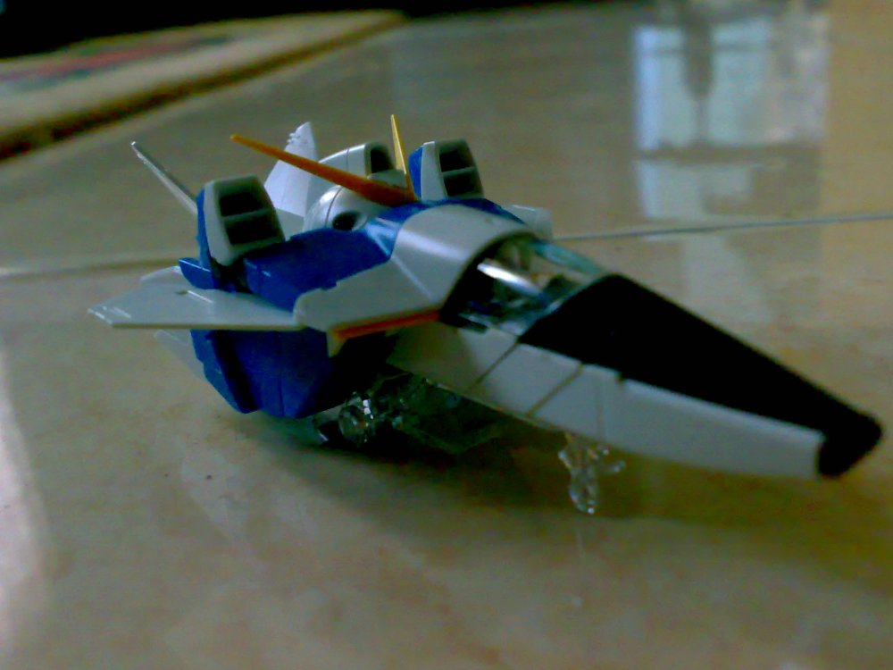 1/100 MG Victory ver Ka WIP [Core Fighter] (1/2)