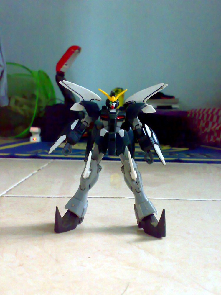 1/144 HG(FA) XXXG-01D2 Gundam Deathscythe Hell Custom (4/6)