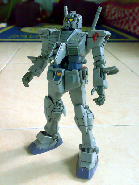 MG RX-78-3 G-3 Gundam (4/6)