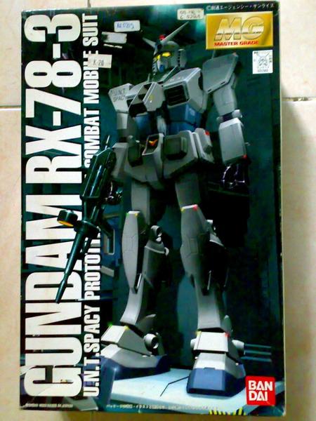 MG RX-78-3 G-3 Gundam (1/6)