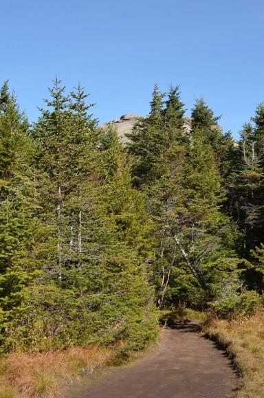 Cascade's summit