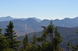 View of the lower range from Porter