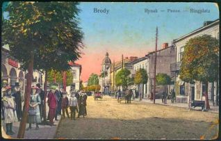 market_square_of_brody_western_ukraine_1914