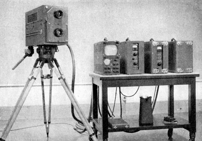 1940 Orthicon Television Camera type 1840